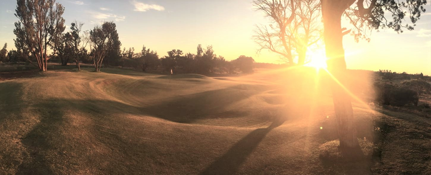 Header Image - Welcome to the Roxby Downs Golf Club